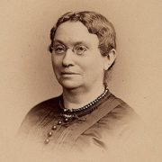 Dr. Hannah Longshore, one of the first women to graduate from the Female (Women's) Medical College of Pennsylvania, in 1852. Drexel University Legacy Center.