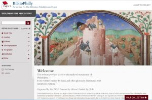 New BiblioPhilly interface, powered by the Penn Libraries -- click to reach the site