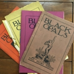 Black Opals, a publication from the collection of the Free Library of Philadelphia.